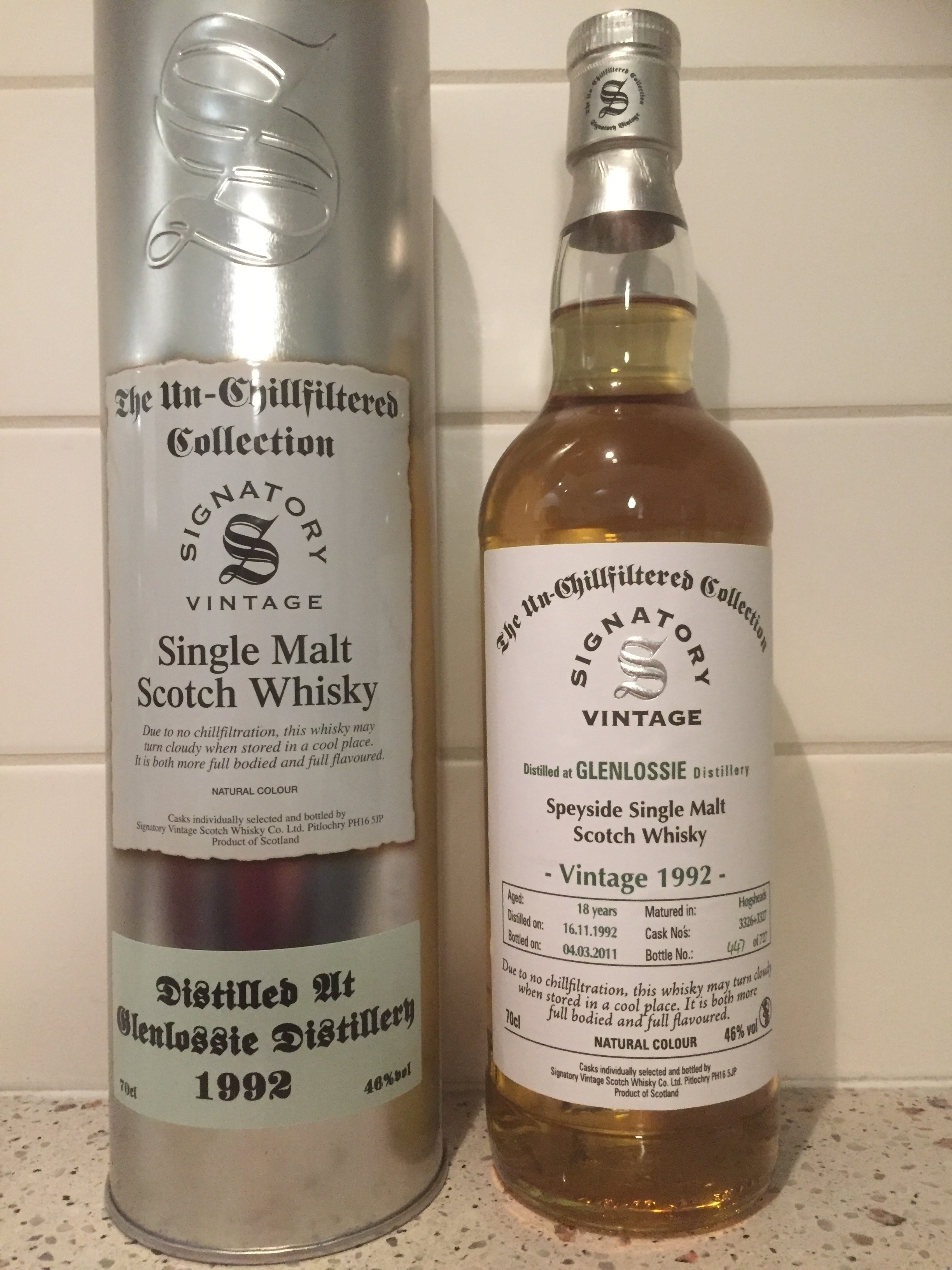 Glenlossie 1992-18y Signatory - Whiskysample.nl: http://www.whiskysample.nl/nl/product/glenlossie-1992-18y-signatory-/