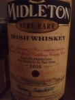 Midleton very rare, bottled 2006