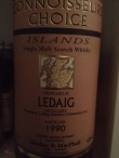 Ledaig 1990 GM CC new label