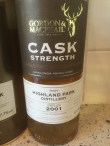 Highland Park 2001 GM single cask 2998